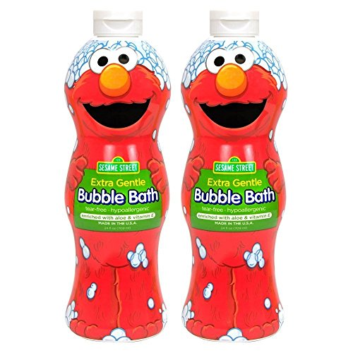 Sesame Street Bubble Bath Extra Sensitive, 24 Ounce (Pack of 2) by Sesame Street (Image #1)