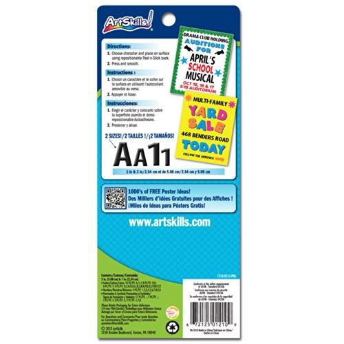 ArtSkills Adhesive Vinyl Letters and Numbers, 2