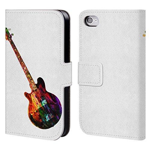 Officiel Mark Ashkenazi Guitare Musique Étui Coque De Livre En Cuir Pour Apple iPhone 4 / 4S