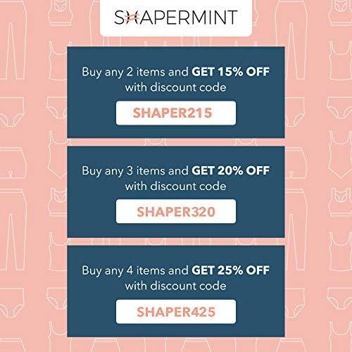 Shapermint Body Shaper Waist Trainer Tummy Control Panty - Shapewear for Women
