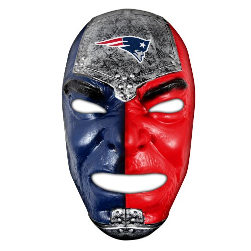 - Franklin Sports NFL New England Patriots Team Fan Face Mask