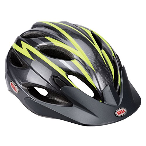 Bell Piston Sport Helmet - 2014 Closeout - CHARCOAL/GREEN ZENITH, One - Zenith Mens Port