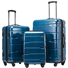 COOLIFE luggage insists on excellent quality to make your journey safe and enjoyable. This is our latest designed 3 piece suitcase, which is constructed from lightweight PC+ABS material and brings together the advantages of both materials. Th...