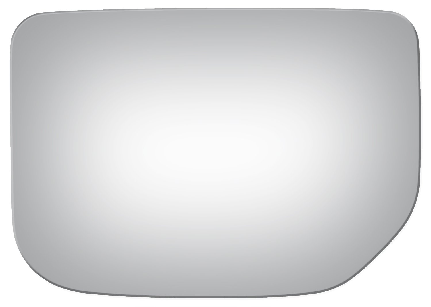 Burco 4131 Flat Driver Side Replacement Mirror Glass for 07-14 Toyota FJ Cruiser 2007, 2008, 2009, 2010, 2011, 2012, 2013, 2014
