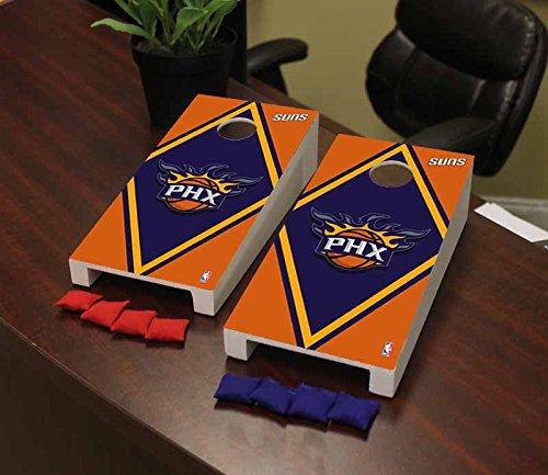 Victory Tailgate Phoenix Suns NBA Basketball Desktop Cornhole Game Set Diamond Version by Victory Tailgate