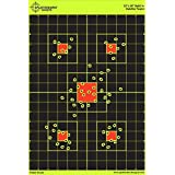 "12""x18"" Sight in Splatterburst Target - Instantly See Your Shots Burst Bright Florescent Yellow Upon Impact!"