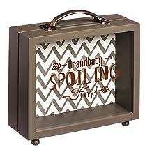B. Boutique Grandbaby Spoiling Fund Wooden Shadow Box Bank