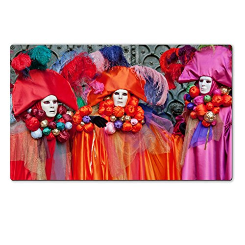 MSD Natural Rubber Large Table Mat Image ID 23698577 Carnival masks Venice (Venice Carnival Costumes History)