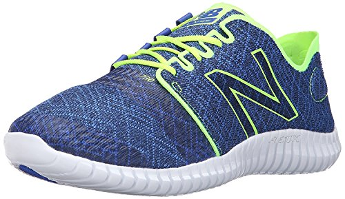 New Balance Mens M730V3 Flexonic Running Shoe, Pacific/Toxic, 41.5 EU/7.5 UK