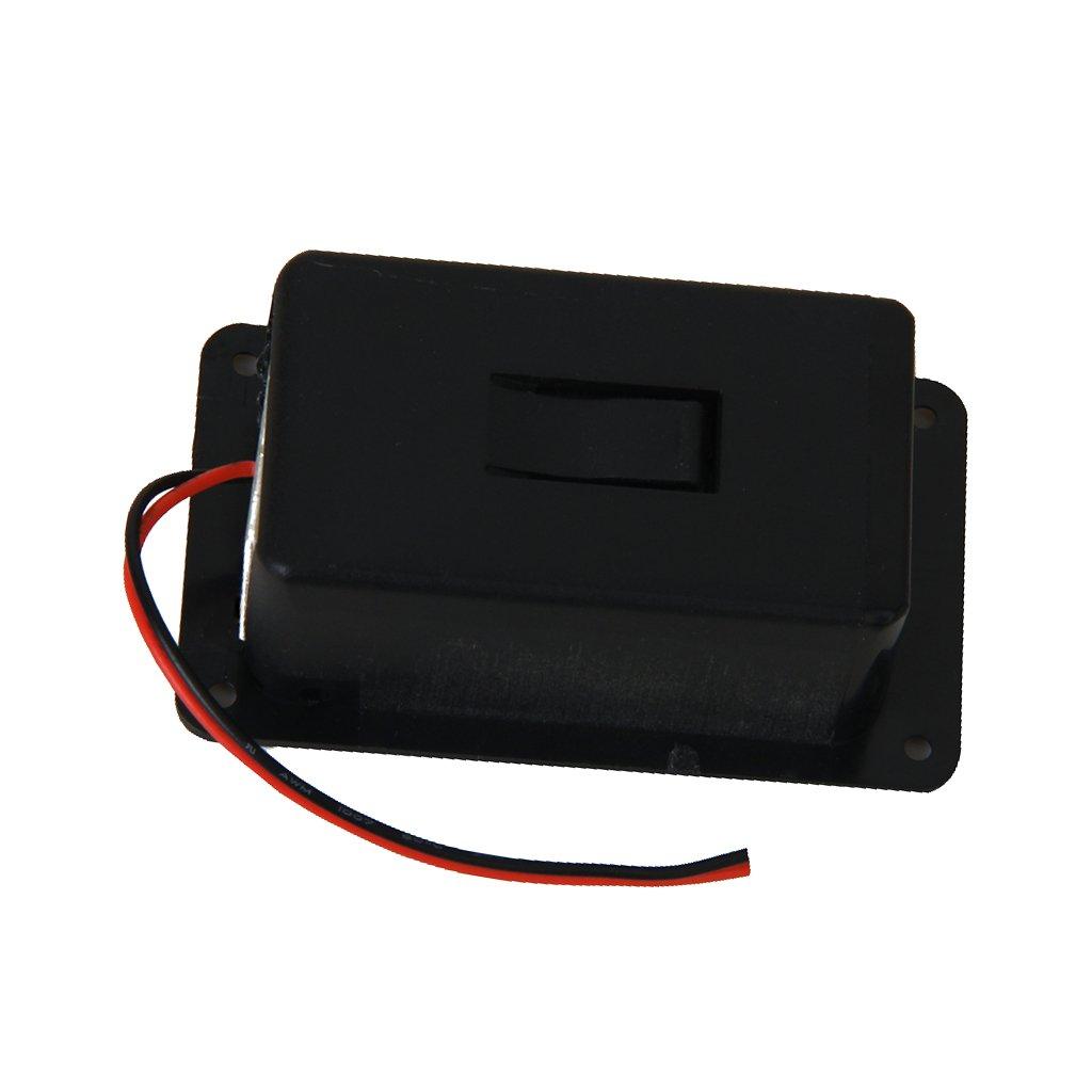 9V Caisse Boîte de Batterie Pour Guitare Basse Ukulélé Générique 110