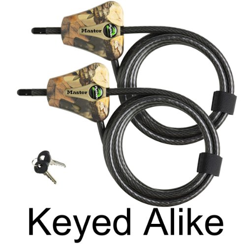 Master Lock – Python Trailer Camera Adjustable Camouflage Cable Locks 8418KA-2 CAMO, Best Gadgets