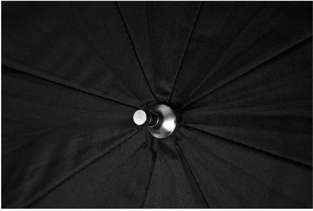 YADSHENG Photographic Reflector Premium Studio Umbrella Softbox 40in Black and Silver Reflective Interior with Neutral White Shoot for Photography Reflectors Color : As Shown, Size : 40 in