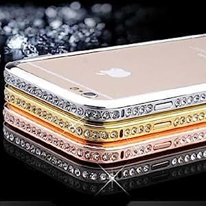 SHOUJIKE iPhone 6 compatible Novelty Bumper Frame , Silver