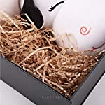 PACKHOME Gift Box 9.5x7x4 Inches, Groomsman Box, Rectangle Collapsible Box with Magnetic Lid for Gift Packaging (Matte…