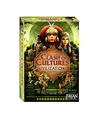 Clash of Cultures Civilizations Board Game by Zman Games