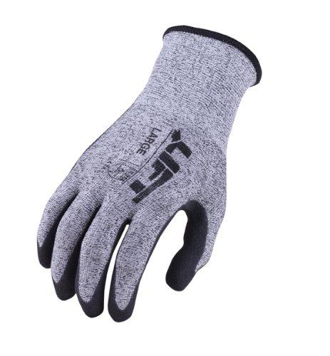 UPC 879501004547, LIFT Safety StarYarn Gloves (Grey, Large)