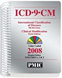 ICD-9-CM 2008 Office Edition, Spiral Vols. 1 And 2, PMIC Editorial Staff, 1570664536