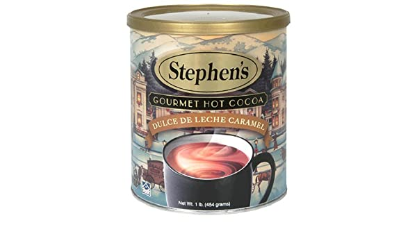 Amazon.com : Stephens Gourmet Hot Cocoa, Dulce de Leche Caramel, 16-Ounce Cans (Pack of 6) : Hot Cocoa Mixes : Grocery & Gourmet Food