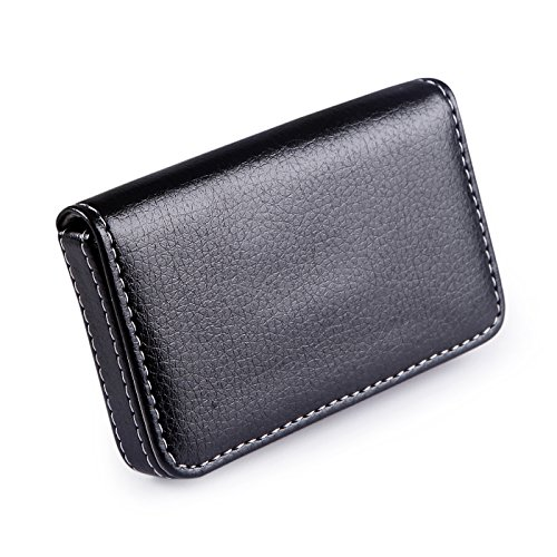 HDE Leather Business Organizer Magnetic