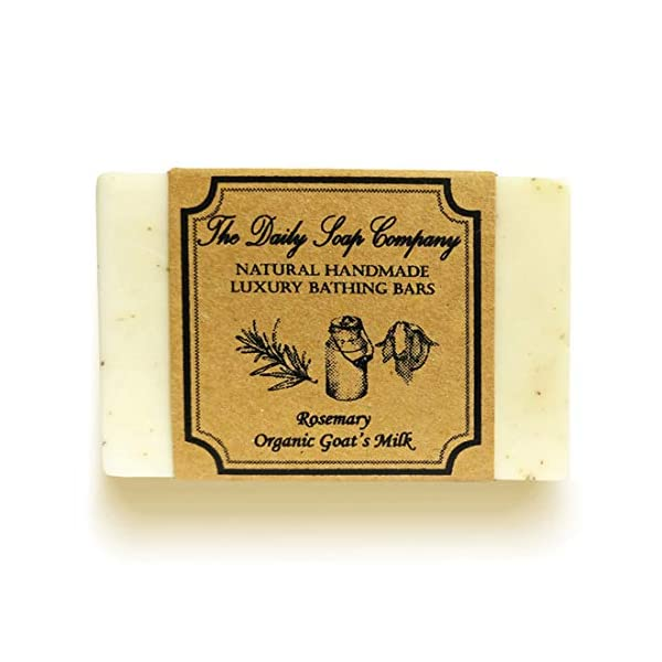 The Daily Soap Company Anti Tan Soap Combo - Coffee Soap 100 gms & Rosemary Soap 100 gms 2021 July Anti-tanning, firms skin elasticity, anti-ageing, reduces acne Rosemary reduces puffiness, lightens dark spots, blemishes All our soaps are made using Organic Goat's Milk that contain alpha-hydroxy acids that help remove dead skin cells, locks moisture, hydrates giving clear and glowing skin.