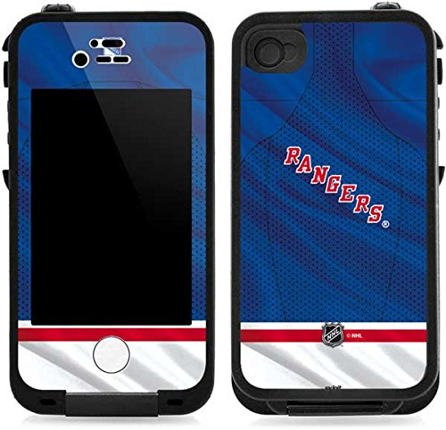 Skinit New York Rangers Home Jersey LifeProof iPhone 4/4s Skin for CASE - Officially Licensed NHL Skin for Popular Cases Decal - Ultra Thin, Lightweight Vinyl Decal Protection (New York Rangers Iphone 4 Case)