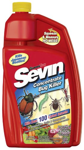 Sevin Concentrate Bug Killer 1 Quart (Sevin Concentrate Garden Bug)