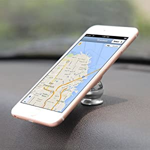 Foster Gadgets Magnetic Phone Holder for Car Dashboard, Car Phone Mount with a Super Strong Magnet