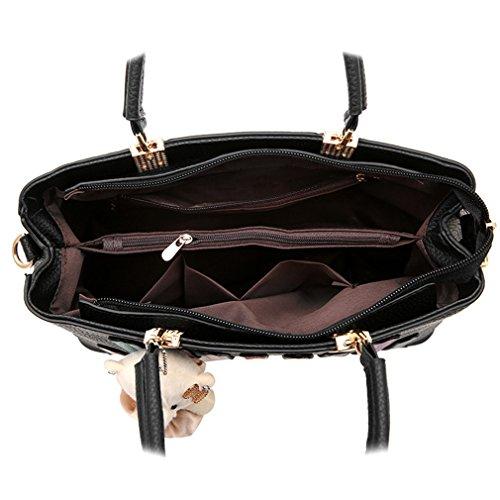 Handbags Obag Blue Bags Girls Bag Female Shoulder For Leather Set Bags And Handbags De Women Purses WwZgXTZUq