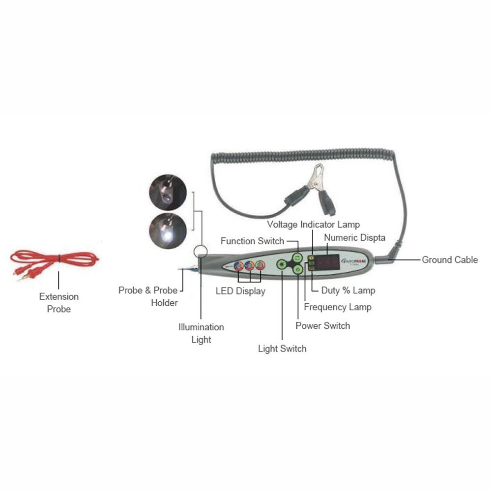 Dt Digital Pulse Tester Multi Logic Probe Car Safe Checking All Circuit Diagram Circuits