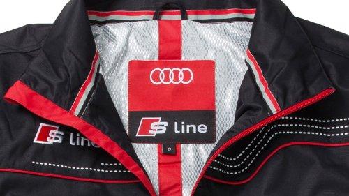 52Auto S Line Zipoffjacke Herren L Audi Jacke DYWH9IE2