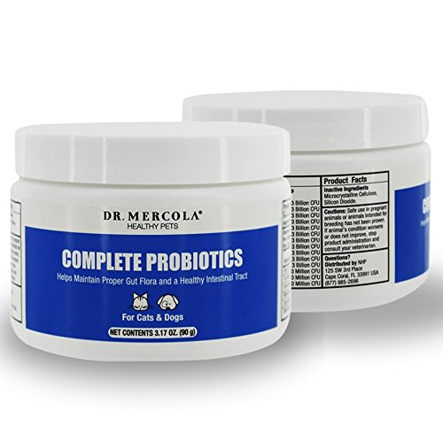 Dr Mercola Complete Probiotics For Cats And Dogs
