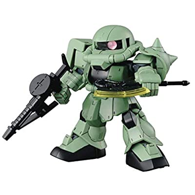 "Bandai Hobby Super Deformed (SD)#04 Cross Silhouette Zaku II ""Mobile Suit Gundam"" Bandai SDGCS: Toys & Games"