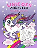 Unicorn Activity Book for Kids Ages 4-8: Fun Kid
