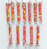 Yingealy Unique Gift 1 pc Romantic Kaleidoscope Cherry Blossom Kaleidoscope Children's Toy(Red Serie,Random Color)