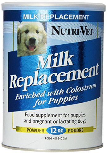 - Nutri-Vet Milk Replacement For Puppies, 12-Ounce