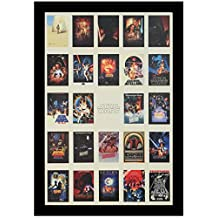 "Crystal Art 119168 ""Sign of the Times"" Star Wars Poster Collage Sign Wall Décor, 24""x 36"""