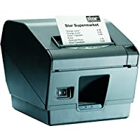 Star Micronics 39480610 Model TSP743II Label Direct Thermal Printer, Friction, Cutter, Bluetooth, IOS, Auto Connect On, Without External Power Supply, 3 Size, Gray