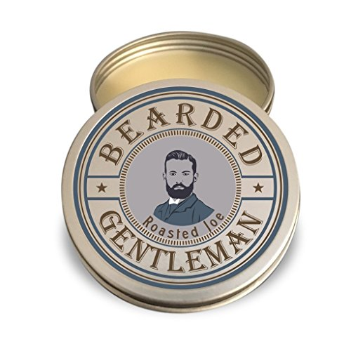 Beard Balm by Bearded Gentleman: Coffee | All Natural Beard Conditioning Balm | 2 oz | - Styles Mustache And Beard Of