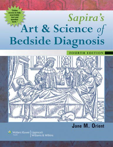 Sapira's Art and Science of Bedside Diagnosis (Sapiras Art And Science Of Bedside Diagnosis)