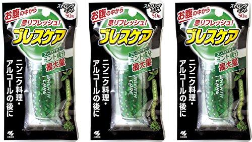 Breath care strong mint 50grainsx3