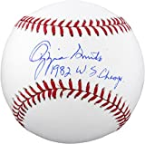Ozzie Smith St. Louis Cardinals Autographed Baseball with 1982 WS Champs Inscription - Fanatics Authentic Certified