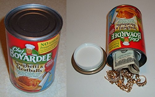 Chef Boyardee Spaghetti & Meatballs Diversion Can Safe
