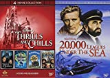 Walt Disney Theme Park Movie Thrills and Chills Collection - Tower of Terror, The Haunted Mansion, Mr. Toad's Wild Ride, The Country Bears, 20,000 Leagues Under the Sea (Special Edition) 5-DVD bundle