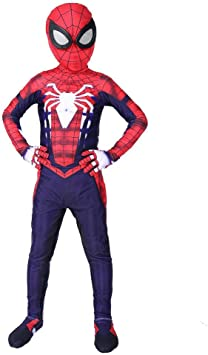Traje De Cosplay De Spiderman Para Niños PS4 Traje De Disfraces De ...