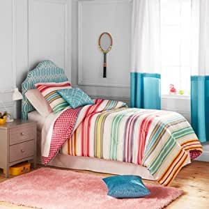 Better Homes and Gardens Kids Comforter Set (Full/Queen Size, Candy Stripe)