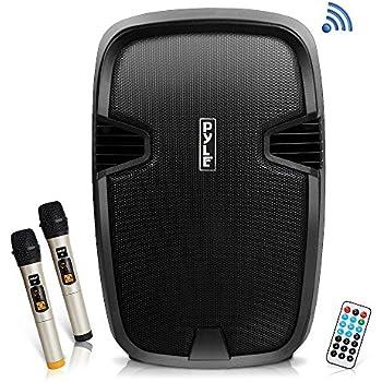 0ef054438 Amazon.com  AW 1500W Portable Active PA Speaker w Wireless ...