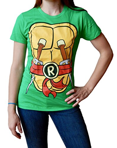Teenage Mutant Ninja Turtles Juniors Raphael Costume T-Shirt L -