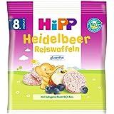 Hipp Heidelbeer Reiswaffeln, 30 g
