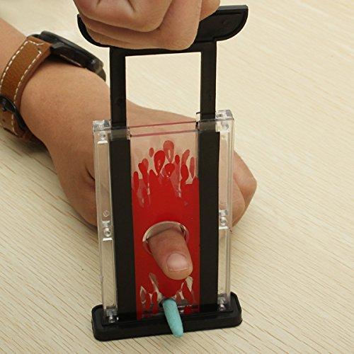 Finger Cutter Chopper Guillotine Magic Props Tricks Toy