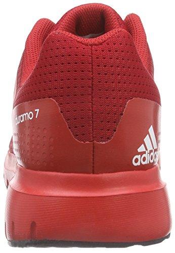 Course Blanc M Multicolore rouge De Chaussures 7 Adidas Duramo Homme XpqwSnv